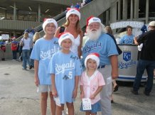 Royals-Santa-Hat-Day
